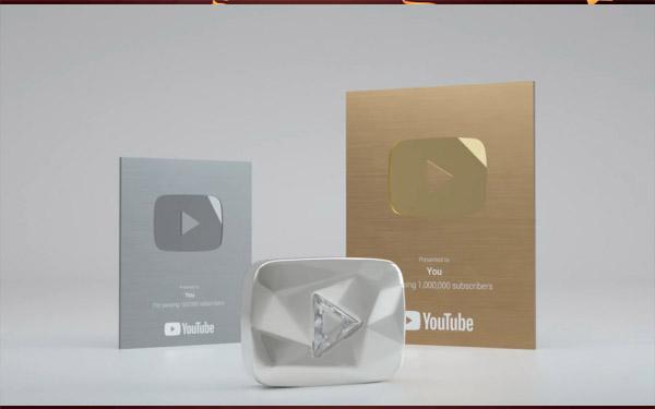 nút vàng youtube