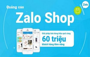Quảng cáo trên Zalo shop