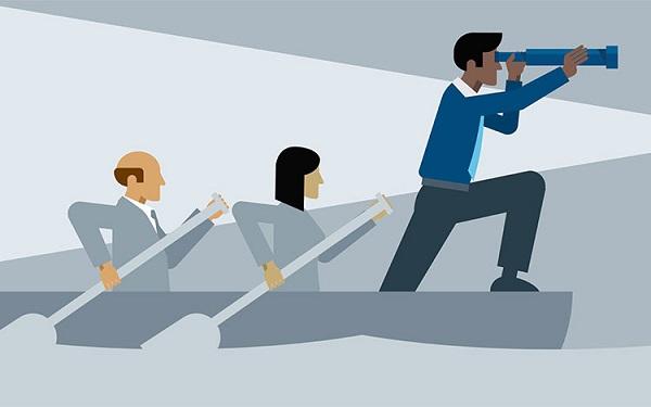 Sếp là người điều khiển và dẫn lối cho nhân viên