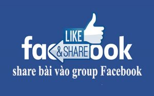 Share bài vào Group Facebook