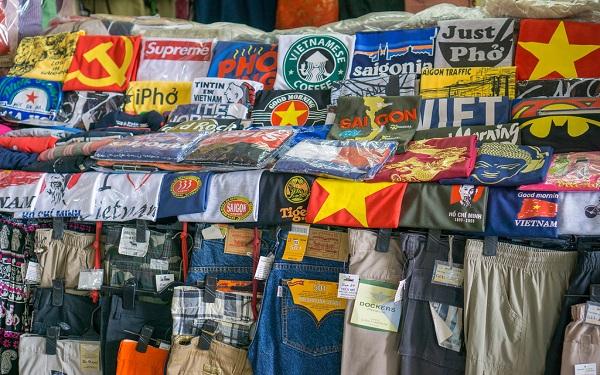 sỉ quần áo Quảng châu chợ Tân Bình