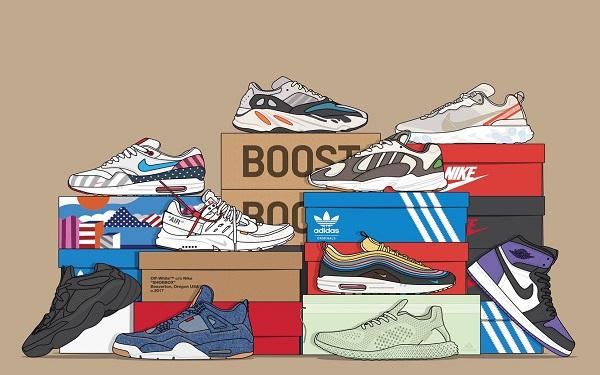 Truy tìm nguồn sỉ giày sneaker replica tận xưởng giá rẻ ít ai biết đến