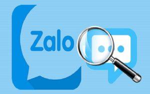 Tìm tin nhắn cũ trên Zalo