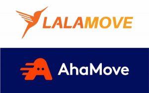 """""""So găng"""" thị trường giao nhận của Ahamove và Lalamove"""