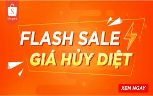 Flash Sale là một trong những chương trình hot trên Shopee giúp bạn bán được nhều hàng hơn
