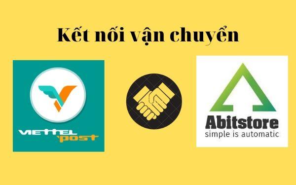 Kết nối vận chuyển với phần mềm quản lý bán hàng Abit