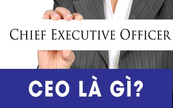 Founder and CEO là gì?
