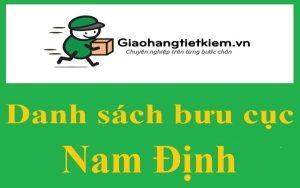 Danh sách giao hàng tiết kiệm Nam Định