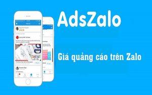 Giá quảng cáo trên Zalo