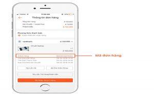 ID được dùng để kiểm tra đơn hàng và giải quyết những vấn đề phát sinh một cách hiệu quả