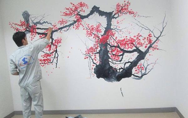 """Ý tưởng kinh doanh """"hot"""" - Dịch vụ vẽ tranh tường nghệ thuật"""