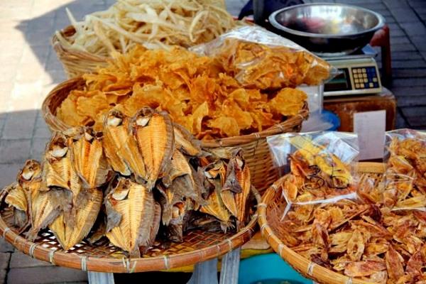 Ý tưởng kinh doanh hải sản khô nhỏ tại nhà