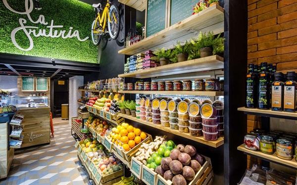 Trang trí cửa hàng kinh doanh nông sản
