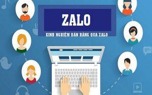 kinh nghiệm bán hàng qua Zalo