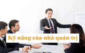 kỹ năng của nhà quản trị