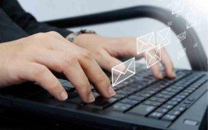 Khi viết email bạn cũng cần chú ý đến kích thước