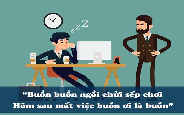 Những câu nói hài hước về sếp và nhân viên