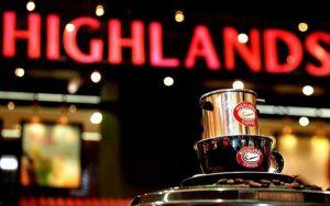 nhượng quyền cafe highland