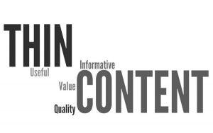 Thin Content là gì