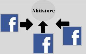 Phần mềm Abitstore có thể kết nối nhiều fanpage và quản lý hiệu quả