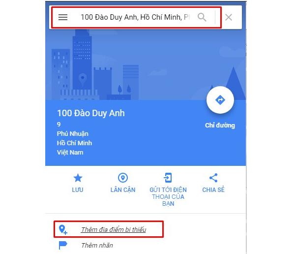 Đưa thông tin của doanh nghiệp lên Google Map