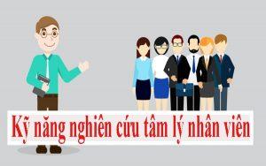Nghiên cứu tâm lý nhân viên