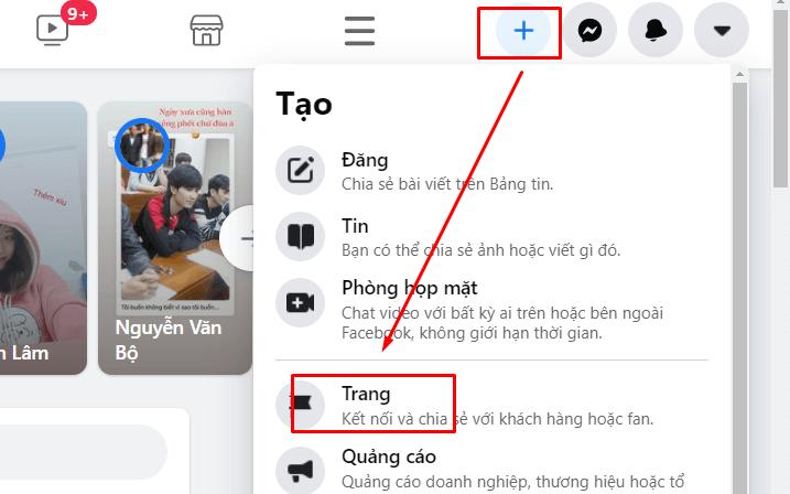 Cách tạo Fanpage trên Facebook bằng máy tính