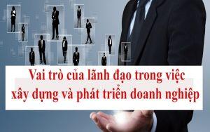 Vai trò của lãnh đạo
