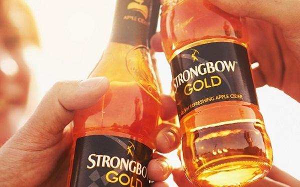 Strongbow là sản phẩm kết hợp giữa nước ép (bia) và các hương vị nước ngọt