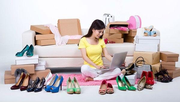 Bán quần áo, giày dép là lựa chọn của rất nhiều người mới bắt đầu bán hàng online