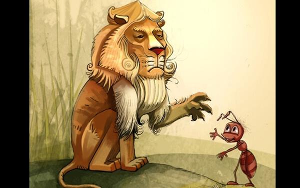 Câu chuyện ông chủ sư tử và nhân viên kiến