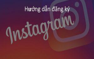 Đăng ký  instagram