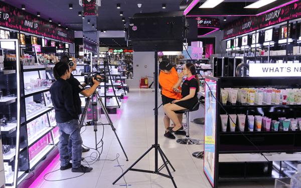 Chuẩn bị trước khi livestream bán hàng mỹ phẩm