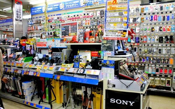 Mở cửa hàng đồ điện tử