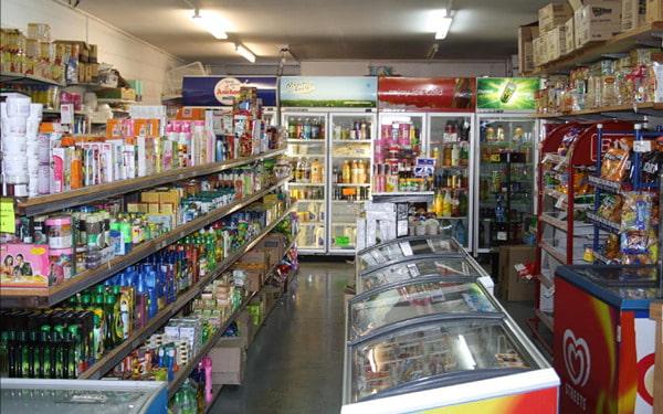 Cửa hàng tạp hóa ở nông thôn