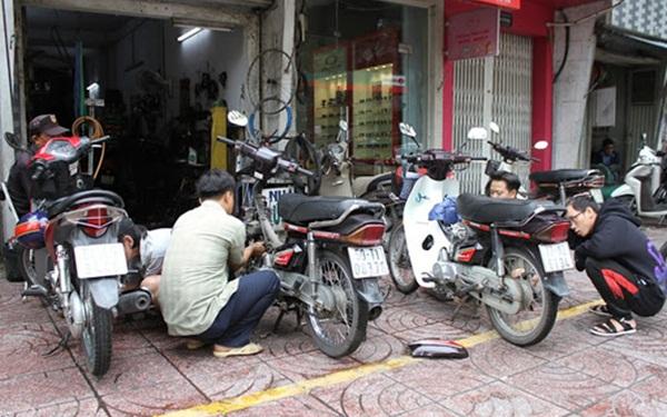 Mở quán sửa chữa xe đạp, xe máy