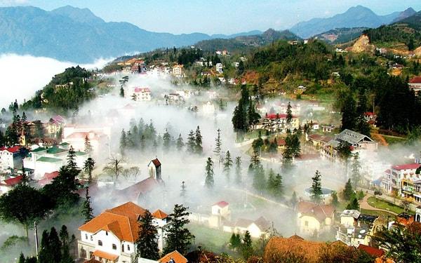 Sapa-địa điểm du lịch miền núi nổi tiếng