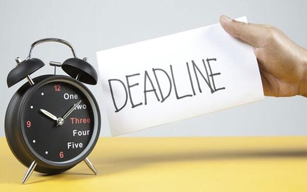 Xây dựng deadline và những quy chế chặt chẽ