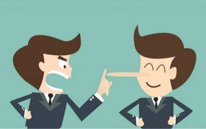 ứng xử với nhân viên nói dối