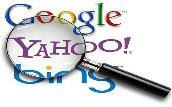 Tìm qua các công cụ tìm kiếm