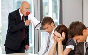 tình huống khó xử với sếp