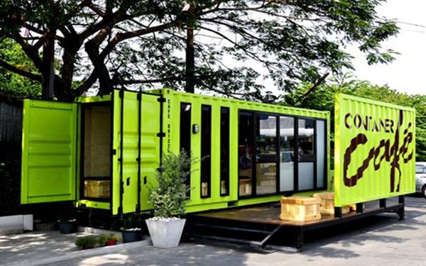 Mô hình kinh doanh độc đáo Cafe Container