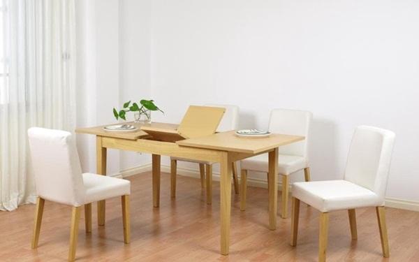 Mẫu nội thất thông minh bàn ăn xếp gọn