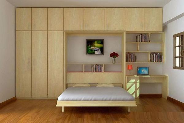 Nội thất thông minh - giường, tủ, giá để sách kết hợp