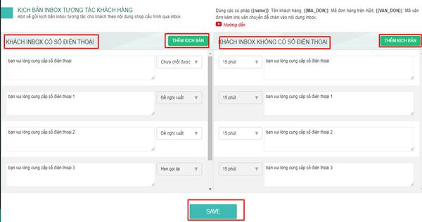 Inbox tiến trình đơn hàng với phần mềm quản lý bán hàng Abit