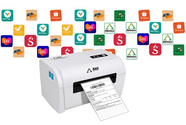 Q900 in đơn chuyển phát nhanh, hóa đơn, mã vạch
