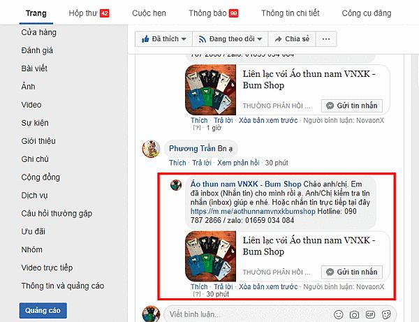 Cách trả lời comment trên Fanpage tự động
