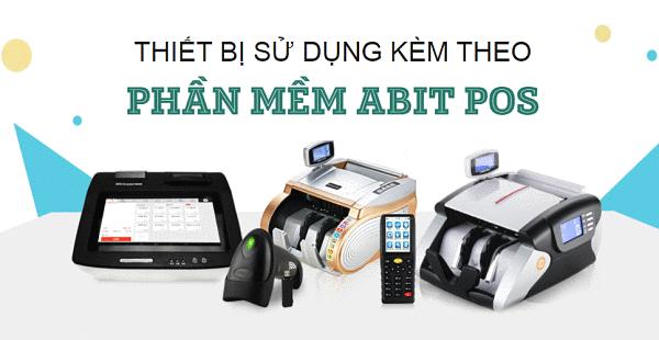 Phần mềm Abitpos tích hợp với nhiều thiết bị