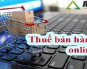 Nộp thuế bán hàng online