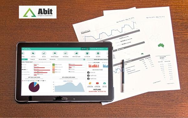 Báo cáo bán hàng tự động bằng phần mềm Abit